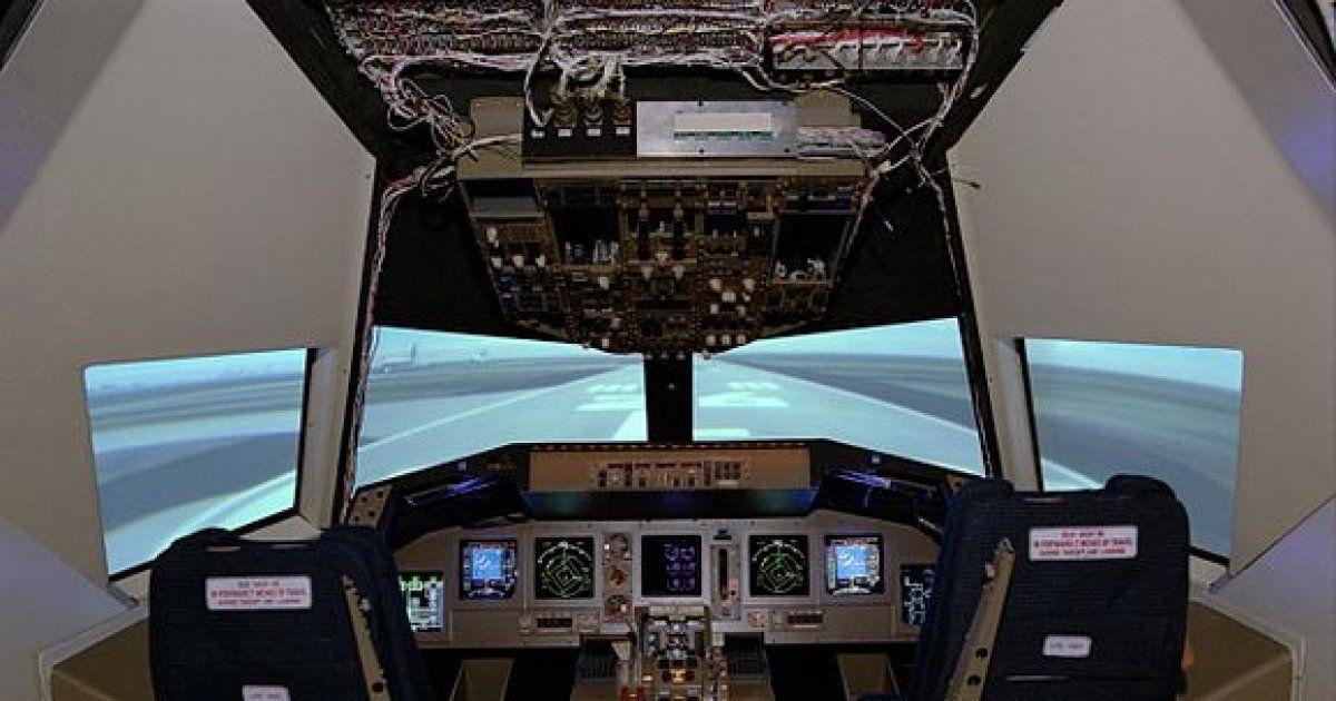 Simulateur de vol ou de conduite en alsace - Simulateur plan maison ...