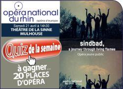 Sindbad - Opéra Jeune Public
