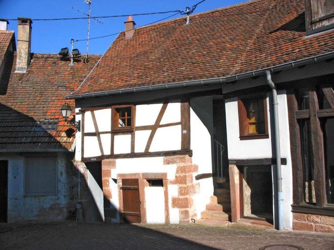 Le Refuge fortifié de Dossenheim sur Zinsel
