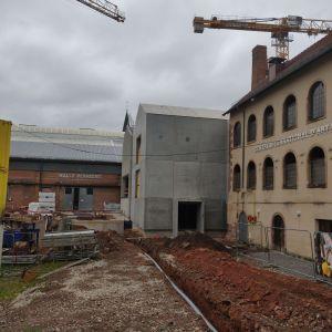 Le chantier du site Verrier de Meisenthal