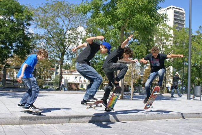 De la gare au skate-park, les skateurs mulhousiens  ne manquent pas d'endroits où se retrouver