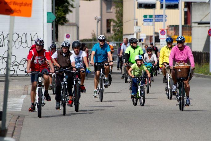 70 km à faire à pied, en vélo ou en trottinette à Bâle et aux environs