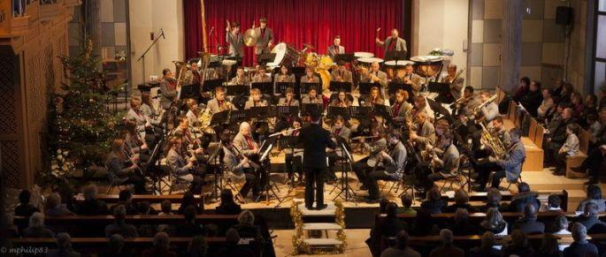 Concert de Noël de la société de musique Concordia de Sausheim