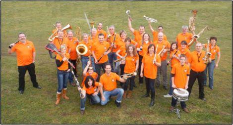 L\'ensemble de la Société de Musique Espérance de Wuenheim