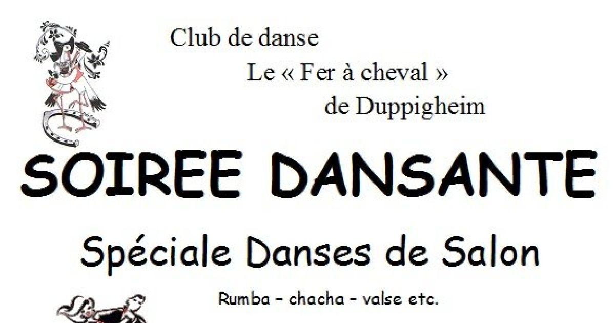 Soir e dansante danses de salon duppigheim salle des for Danse de salon 95