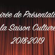Soirée de présentation de la saison 2018-2019
