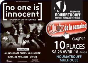 Soirée LA : No One Is Innocent