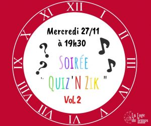 Soirée Quiz\'n Zik vol.2