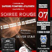 Soirée Rouge - A Rota nacht mit da pompiers