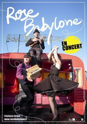 Rose Babylone sera en concert sur le parvis de la Mairie de Staffelfelden pour la soirée sous les étoiles