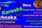 soiree fleischnaka, vin nouveau et karaoke