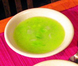 Soupe au poireau et pomme de terre
