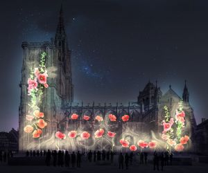 Spectacle estival / mapping et illuminations à Strasbourg