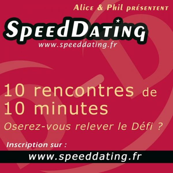 Speed dating sac sur la tete
