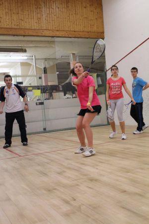 Le squash est un sport intense, où le joueur doit imposer son rythme pour espérer gagner.