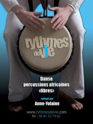 Stage d\'été  pour enfants: percussions et/ou danse africaine