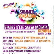 Stage d\'été 2016 de Salsa Bachata Kizomba à Otterswiller