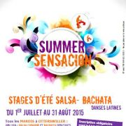Stage d\'été Salsa Bachata à Haguenau et Otterswiller