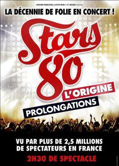 La tournée de Stars 80 : L\'Origine joue les prolongations !