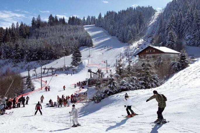 Le domaine skiable de Gérardmer