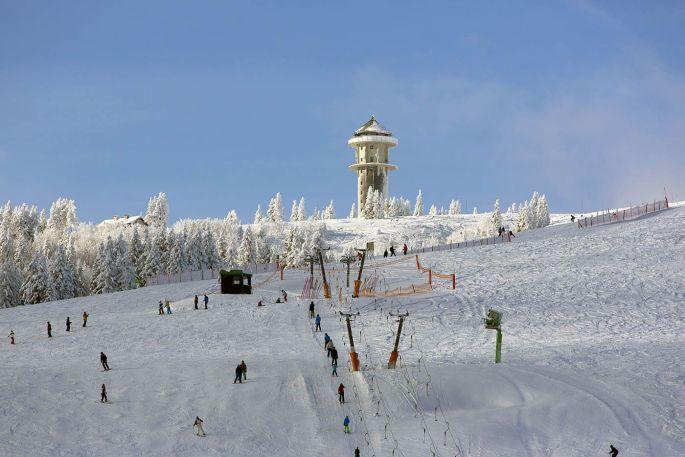 Le domaine skiable du Feldberg en Allemagne