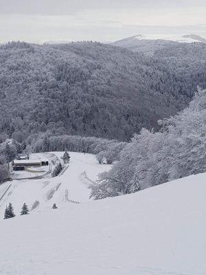Les pistes du domaine skiable de la Planche des Belles Filles
