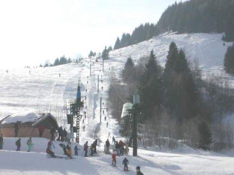 L\'agréable petite station de ski de Larcenaire, à Bussang