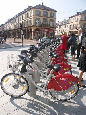 Station Vélocité Place de la Paix