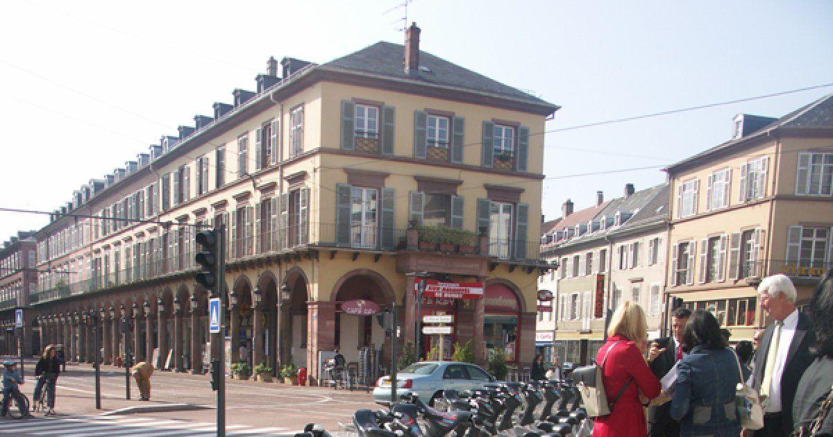 Station 2 v locit mulhouse place de la r publique - Horaires piscine mulhouse ...