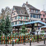 Parking-Relais pour accéder au marché de Noël de Colmar