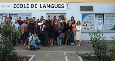 L\'école de langues Stralang à Strasbourg