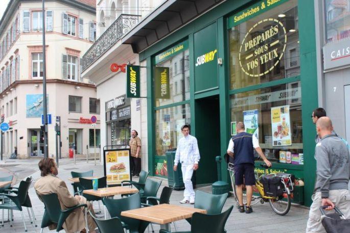 Subway - rue du Sauvage - Mulhouse