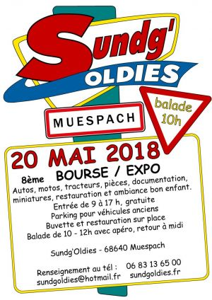 Sundg\'Oldies 2018 - 8ème Bourse / Expo