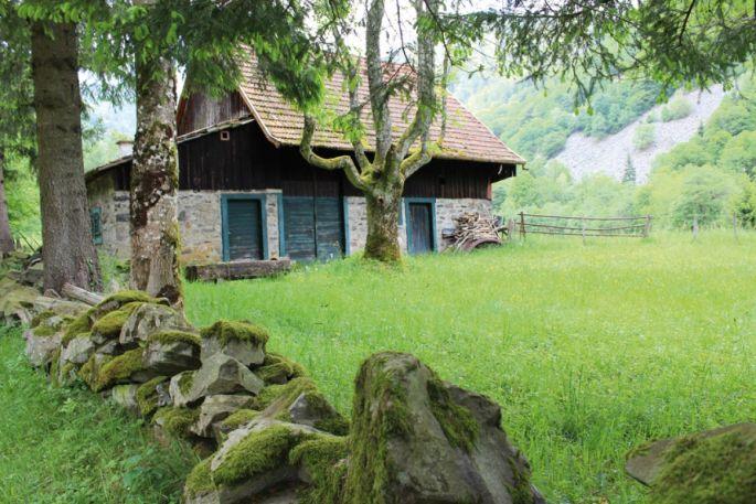 Une ferme le long du GR5