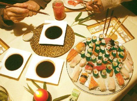 La tradition des sushis au Japon