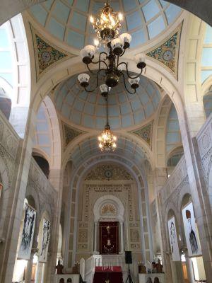L\'intérieur de la Synagogue de Thann