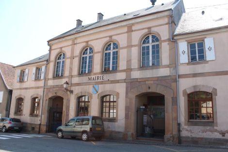 Syndicat d\'initiative situé à la mairie de Blienschwiller