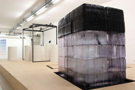 Circuit fermé, une installation évolutive de Jérémy Laffon