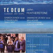 Te Deum classique-jazz-gospel de John Featherstone
