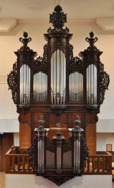 Le majestueux orgue du Temple Saint-Jean à Mulhouse
