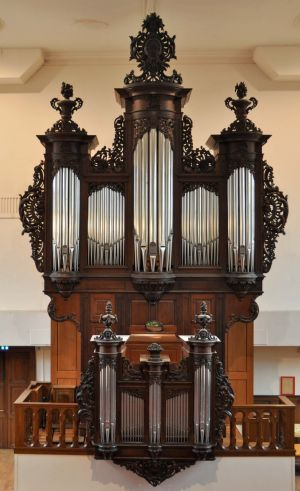 Le majestueux orgue du Temple Saint-Jean à Mulhouse