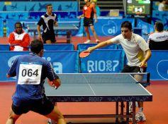Le tennis de table, ou ping pong, est avant tout un sport de réflexe.