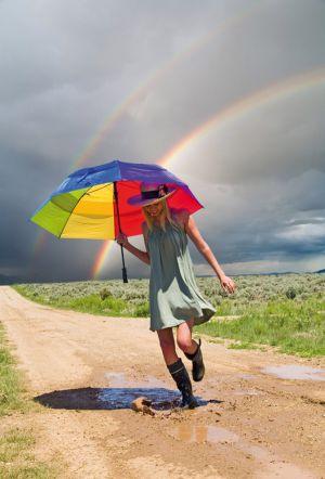 Etes-vous du genre à chanter sous la pluie et à jouer dans la gadoue?