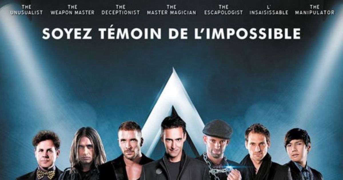 The illusionists strasbourg magie zenith for Maison de l emploi strasbourg