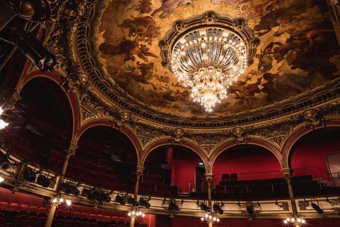 L\'intérieur du Théâtre des Célestins à Lyon