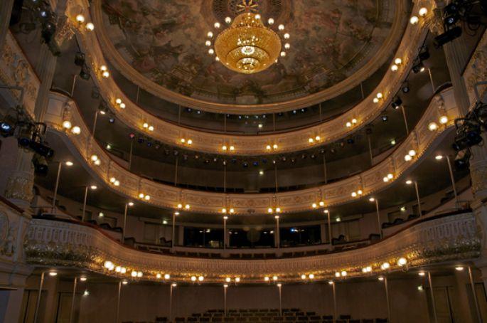 Le Théâtre Municipal de Colmar est un théâtre à l\'italienne