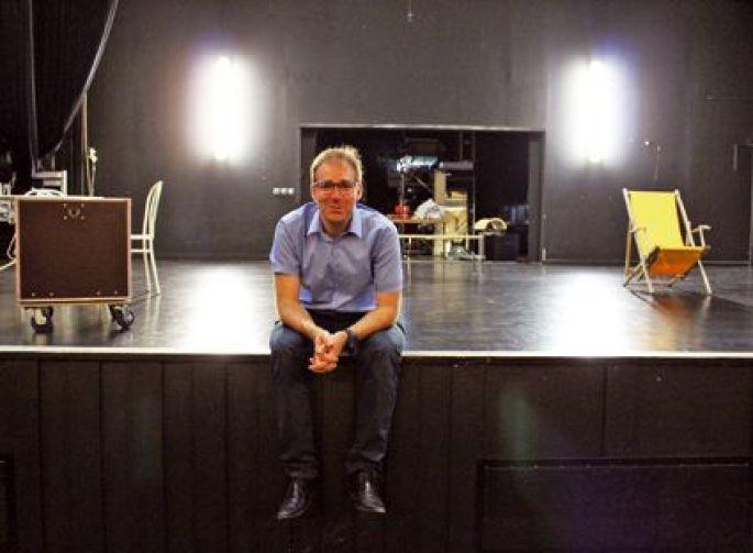Thomas Ress, le directeur de l\'Espace 110 à Illzach