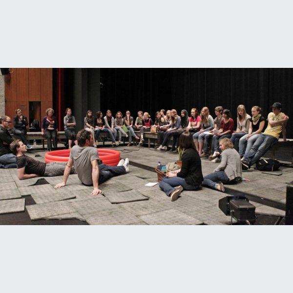 Rencontre interculturelle autour de pratiques theatrales