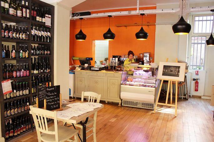 Tilvist, un lieu convivial pour boire un café ou un thé, et pour se restaurer