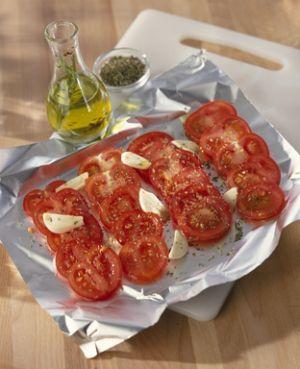 Tomates provençales au four ou au barbecue